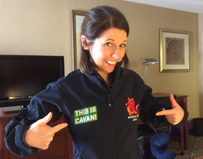 This is Cavan! My souvenir from the Contemporary Scholars Conference in Ireland in March