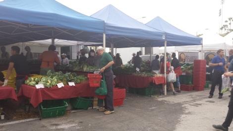 Farmers' market, St Pete