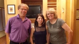 Gil and Lisa Gullickson in Iowa. Gil is crop editor at Successful Farming.