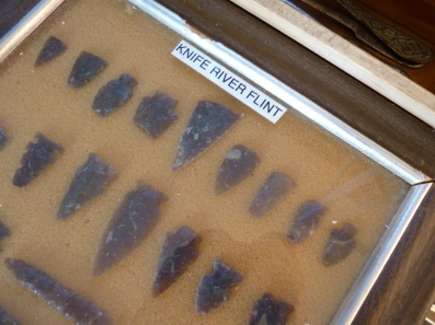 Flint arrowheads