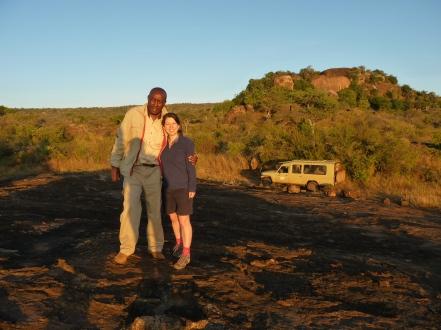 Stanley Gitau, dairy farmer, driver and safari guide, Laikipia, Kenya