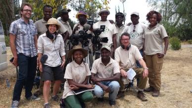 The Shamba Shape Up crew, Kenya