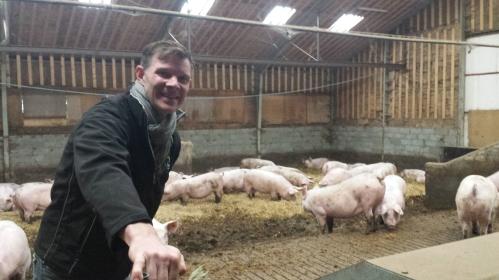 Peter Kiær, pig farmer, Denmark