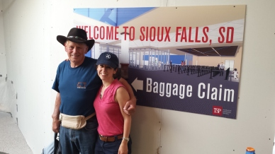 My Dad who travelled with me through South Dakota. One of the highlights of my year.