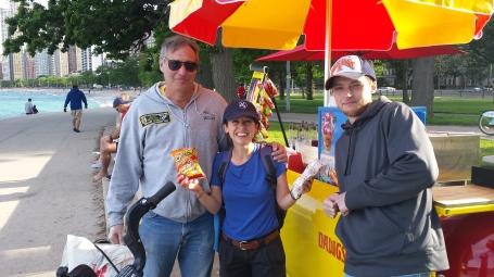 Hotdog dudes in Chicago