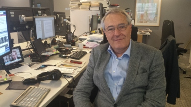 I wouldn't be doing a Nuffield without the support of this man - Jeremy Hayes, former BBC Editor of Rural Affairs
