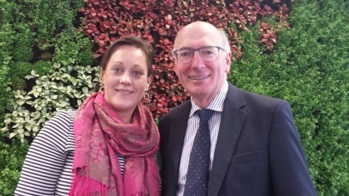 Roz O'Shaughnessy and Michael Walsh, Bord Bia, Dublin