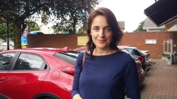 Irish journalist and broadcaster Ella McSweeney