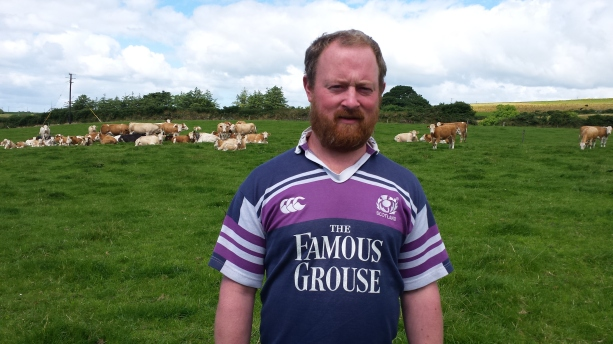 Irish legend and Nuffield Scholar Tommy Moyles on his beef farm in Clonakilty