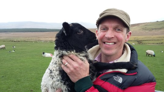 Darragh McCullough, Irish farmer, journalist and presenter of RTÉ's Ear to the Ground