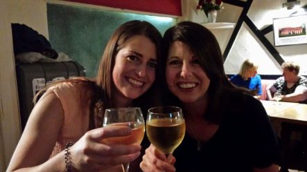 GFP buddies - getting sloshed my Maeve in Ireland