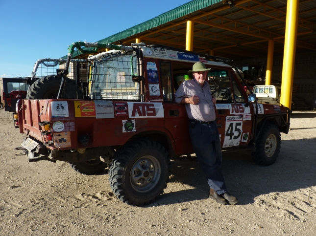 The legend that is Phil Tilly in Kenya