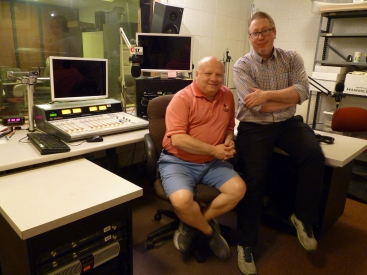 Willis Kern, News Director and Charlie Schlenker, Assistant News Director, WGLT, Illinois