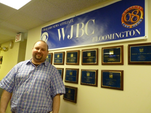 Terry James, News and Agribusines Director, WJBC, Illinois