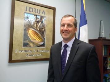 Mike Naig, Deputy Secretary of Agriculture, Iowa