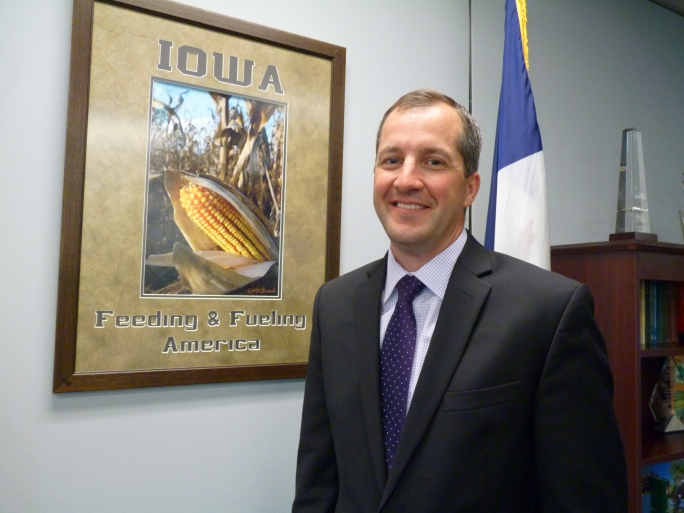 Mike Naig, Deputy Secretary of Agriculture, Iowa