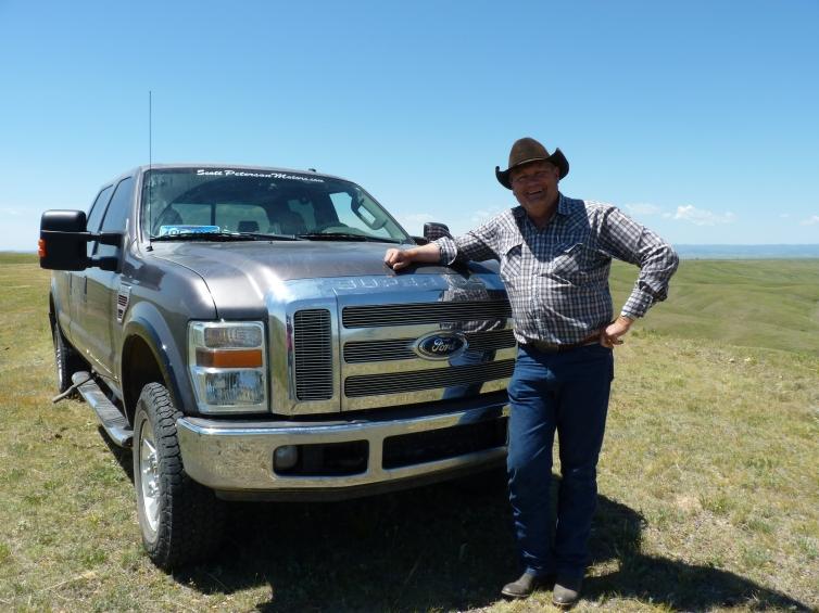 Larry Reinhold, cattle rancher, Sturgis, South Dakota