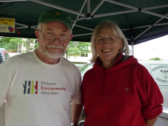 Jim and Rebecca from Northwood Organic Farm in Wisconsin