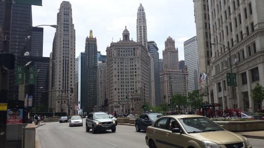 Downtown Chicago.