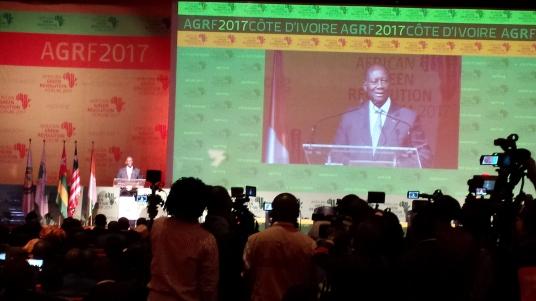 Alassane Ouattara, President of Côte d'Ivoire