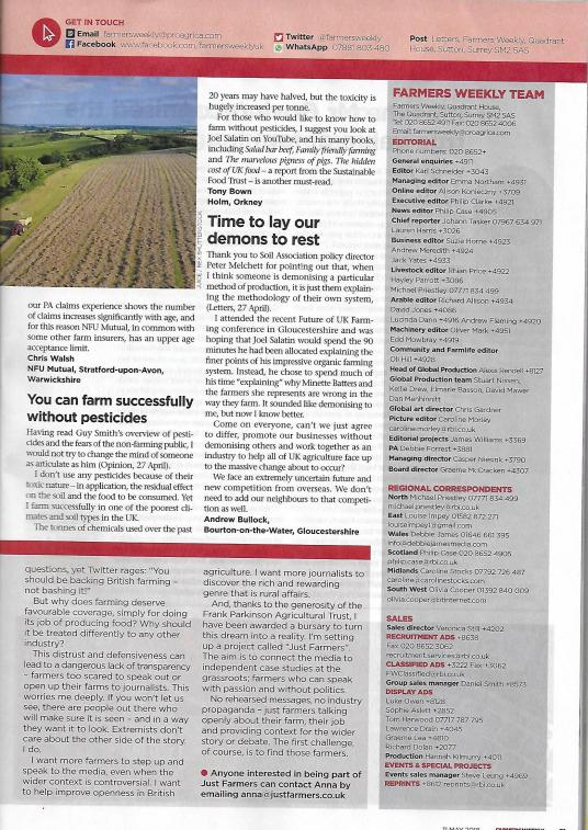 Farmers Weekly, May 11th 2018