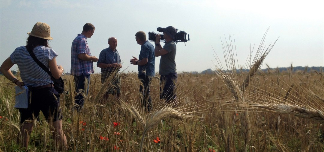 Perfect weather for a Countryfile interview (3)