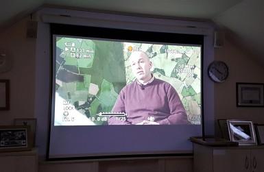 Dairy farmer Charles Goadby being questioned on Bovine TB
