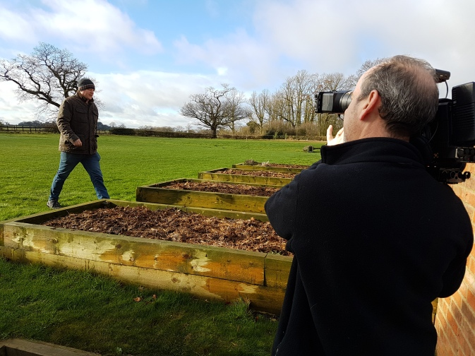 Phil directing Stephen Ware