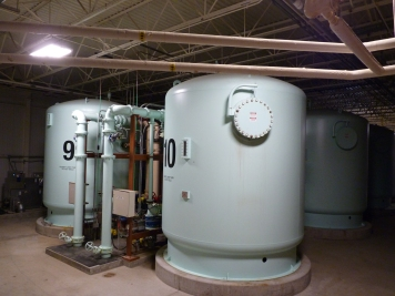 Nitrate removal facility at Des Moines Water Works