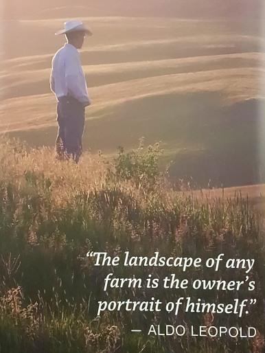 Photo taken on Lyle Perman's ranch in 2014.