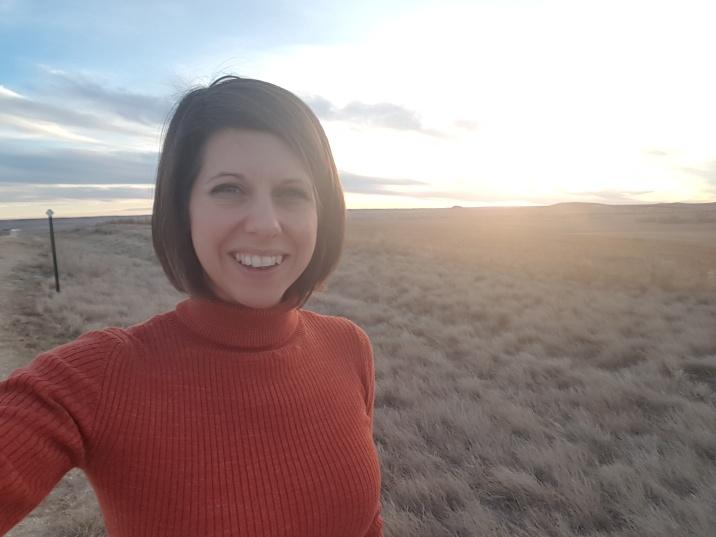 Me on the prairie in South Dakota