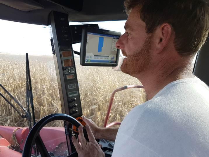 Wade driving combine